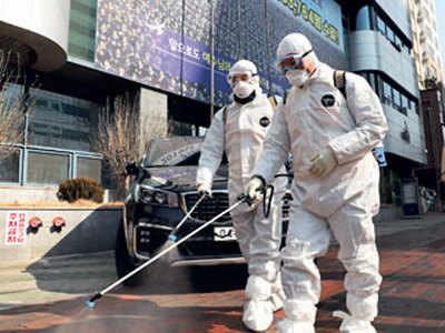 'Super-spreader' leaves S Korea city deserted
