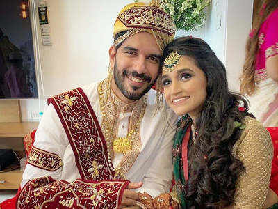 Naam Shabana actor Taher Shabbir and Akshita Gandhi are now officially married