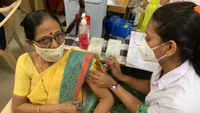 Covid-19: Elderly beneficiaries receive vaccine at Sutar Hospital in Pune