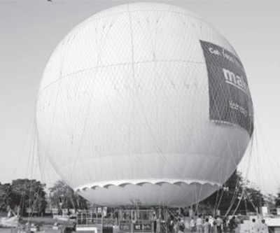Balloon ride at Kankaria not before carnival