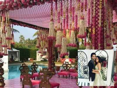 Inside pictures from Varun-Natasha's wedding venue
