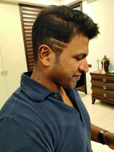 Pavan gives Puneeth a new look