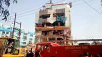 MP honey trap case: IMC demolishes Sanjha Lokswami owner's properties