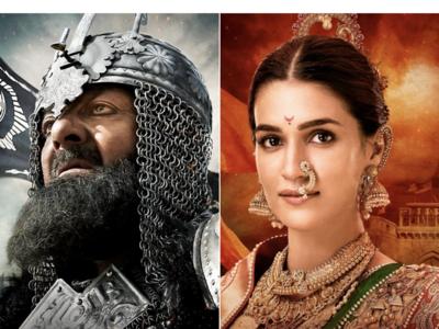 Panipat new posters: Sanjay Dutt looks fierce as Ahmad Shah Abdali, Kriti Sanon's Parvati Bai resembles Priyanka Chopra's Kashibai