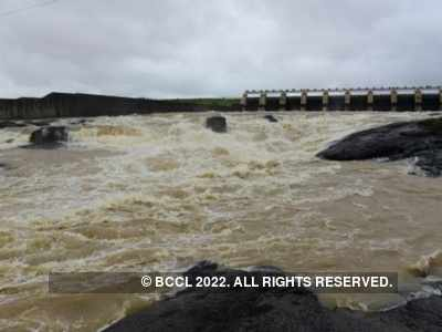 Excess water released from five dams in Maharashtra