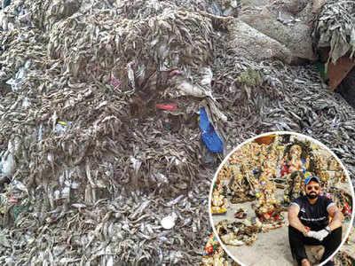 Ganpati Visarjan 2018: Thousands of dead fish wash ashore after 7th-day Ganesha immersion