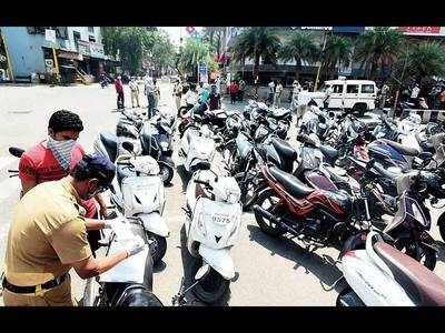 Violators to pay hefty fines for cars and two-wheelers seized during lockdown