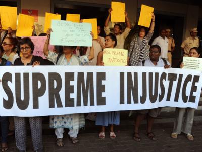 CJI Ranjan Gogoi clean chit: Mumbai women organise protest march at Dadar