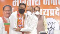 Congress MLA Rahul Lodhi resigns, joins BJP in presence of CM Chouhan