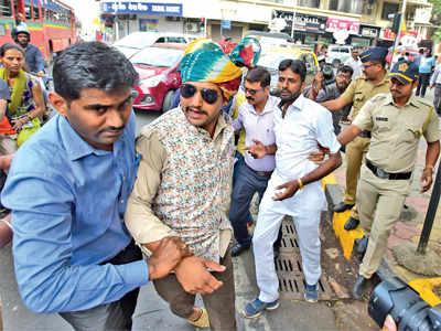 Karni Sena members held for Padmaavat protests