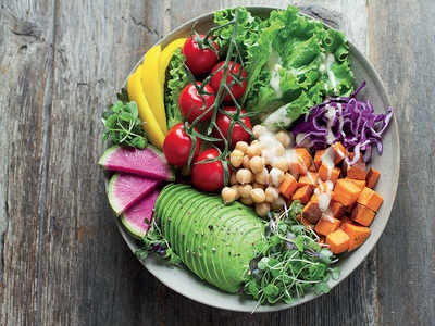 The two-fruits and three-veggies theory