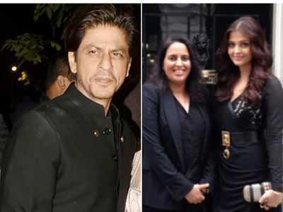 Diwali 2019: Shah Rukh Khan rescues Aishwarya Rai Bachchan's manager Archana Sadanand from fire at Bachchan's Diwali bash