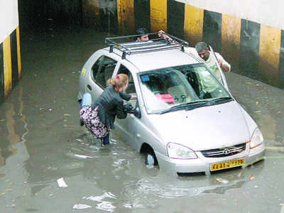 Bruhat Bengaluru Mahanagara Palike goes corporate to keep underpasses from flooding this time