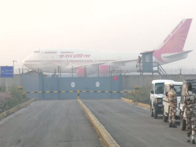 Coronavirus outbreak: 324 Indians evacuated from China's Wuhan in special Air India plane