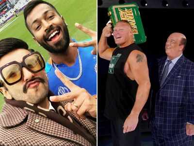 Could Ranveer Singh get sued for saying 'Eat, Sleep, Dominate, Repeat'? Brock Lesnar's advocate thinks so