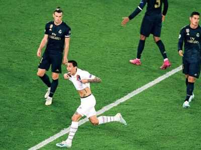 UEFA Champions PSG crush Real Madrid in league opener match