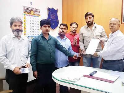 Sahakarnagar police charge MNS workers for trespassing