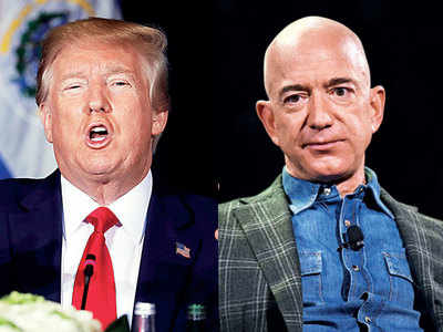 Amazon wants to question Trump over Pentagon deal