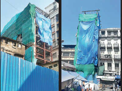 'Holiday construction' behind Dongri's shaky buildings, says report