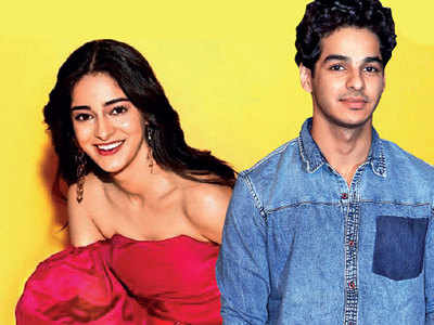 Ishaan Khatter to romance Ananya Panday in Ali Abbas Zafar's first production