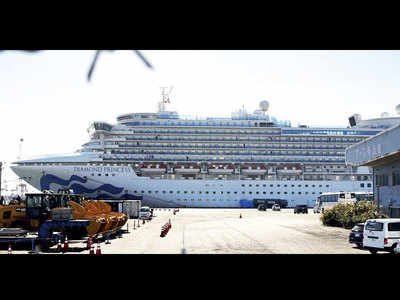 Two Indians among 99 new cases on cruise ship