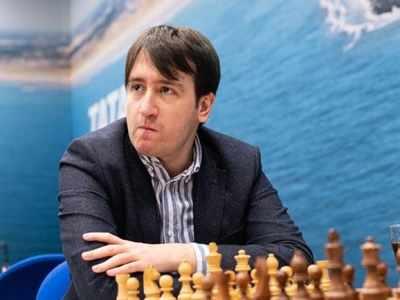 Teimour Radjabov breaks down after winning Airthings Masters