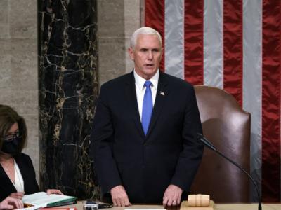 Vice President Mike Pence defies Donald Trump, affirms Joe Biden's win