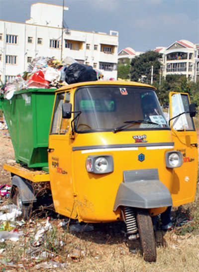 BBMP trash-talks apartments,offers them flat rate of Rs 4/kg