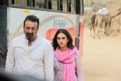 Bhoomi movie review: Sanjay Dutt in top form in this Omung Kumar directorial also starring Aditi Rao Hydari