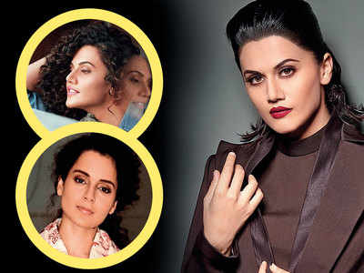 Exclusive! Taapsee Pannu: Kangana Ranaut can't play the nepotism card with me, I've also struggled to reach where I am