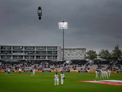 India vs New Zealand WTC Final Highlights: India 146/3 as bad light forces early stumps on Day 2
