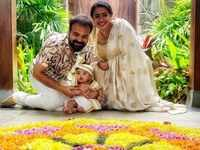 Kunchacko Boban shares a video of his family welcoming his little one