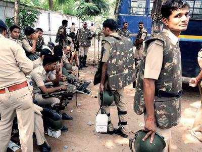 Stressed cops look for succour