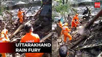 Nainital: NDRF carries out rescue operation at building collapse sites