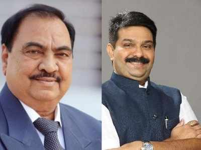 BJP's Prasad Lad slams Eknath Khadse: You could not get your own daughter elected