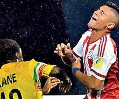 Paraguay beat Mali