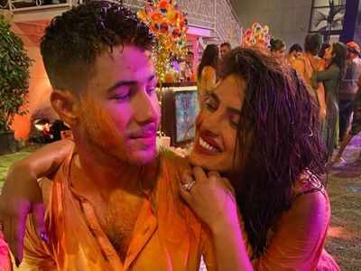 Nick brings in his first Holi celebration with PeeCee, Katrina and others