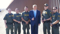 Trump visits US-Mexico border wall: Calls it great progress