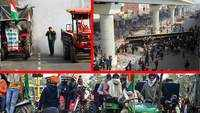 Tractor rally: Scenes of chaos and mayhem across Delhi as protesting farmers deviate from designated route