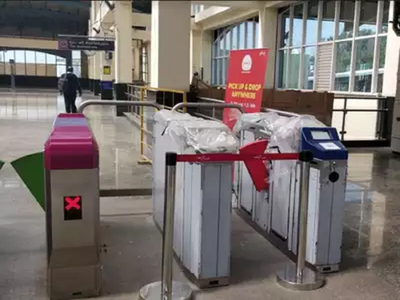 To promote common mobility card, BMRCL installs new AFC gates at 2 metro stations in Bengaluru