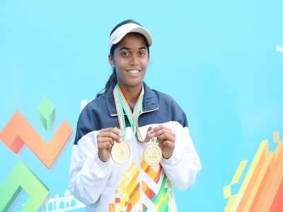 Prerna Vichare gets home two medal in tennis