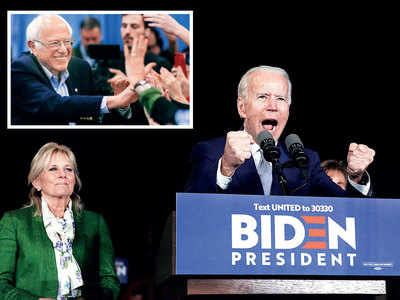 Biden scores big on Super Tuesday