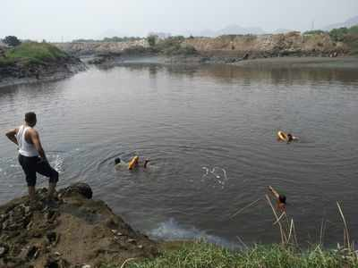Search operation underway for missing boy at Mumbra creek, two rescued