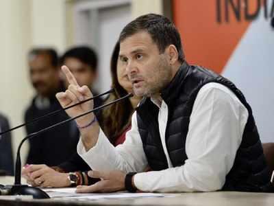 Modi govt 'textbook case of moral bankruptcy' says Gandhi