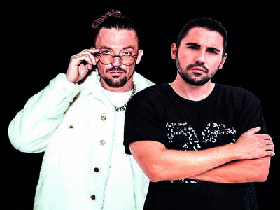 Belgian brothers, DJs Dimitri Vegas and Like Mike, promise to light up your night with their beats