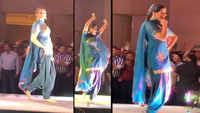 Sapna Choudhary dances to the tunes of 'Rapat Likh Lo Ne Daroga Ji', videos go viral!