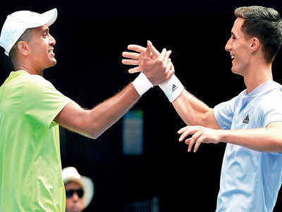 Australian Open: Rajeev Ram, Joe Salisbury win doubles title