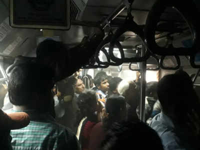 16 passengers hospitalised after Kolkata metro catches fire; some critical