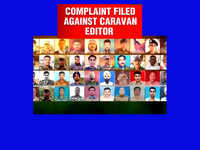Shocking 'coffin' caste census; complaint against Caravan magazine editor