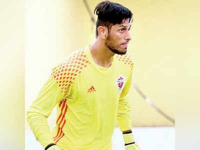Love for diving got me to goalkeeping: Bilal
